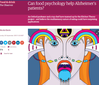 The Observer – Can Food Psychology Help Alzheimer's Patients?