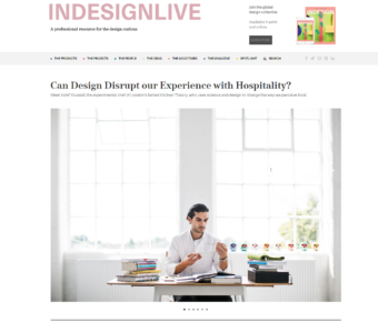 Indesignlive – Can Design Disrupt Our Experience With Hospitality?