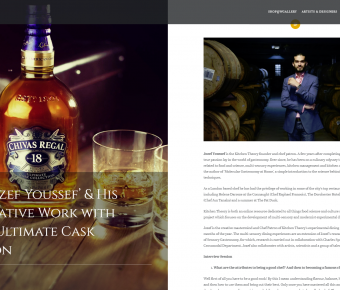 NAOROCOCO – 'Hi, I Am Jozef Youssef' & His Collaborative Work With Chivas 18 Ultimate Cask Collection