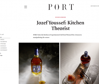Port Magazine – Jozef Youssef: Kitchen Theorist